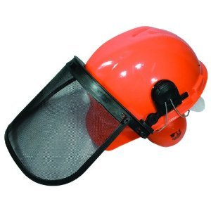 Chain saw helmet
