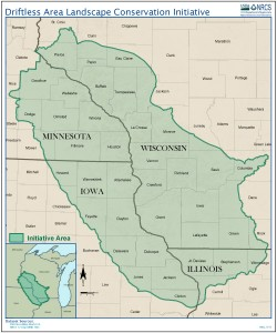 Map developed by National Resources Conservation Services (NRCS)