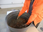 Prairie planting, Savanna Prairie, mixing seed