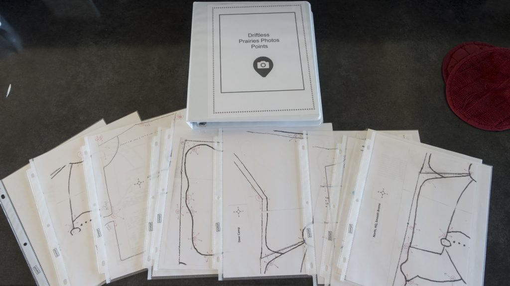 Each management area map was put into page covers.